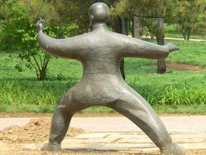 Statur, Qigong, Wiese