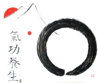 Meditation, Zeichnung, Symbol